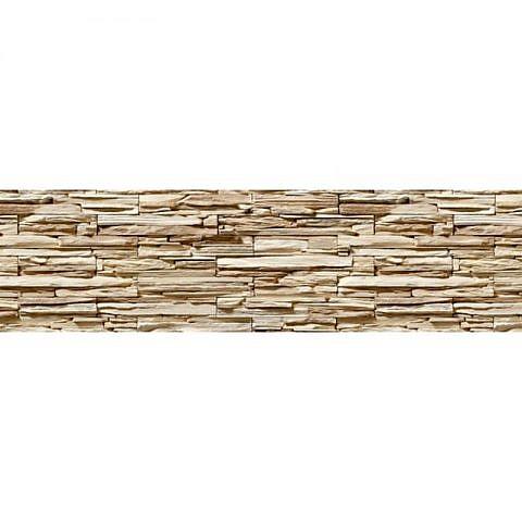 Фартук кухонный пластиковый 3х0,6 метра Сланец 2943