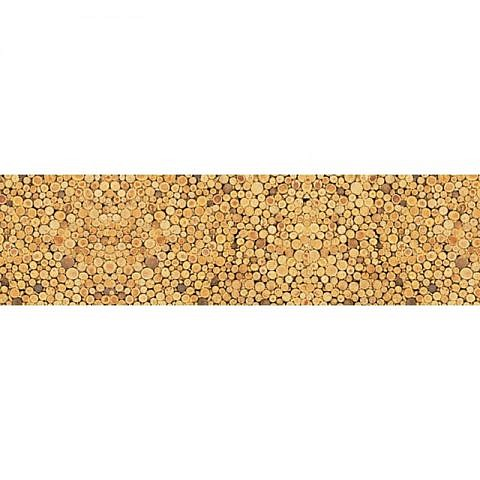 Фартук кухонный пластиковый 3х0,6 метра Пробки 3833