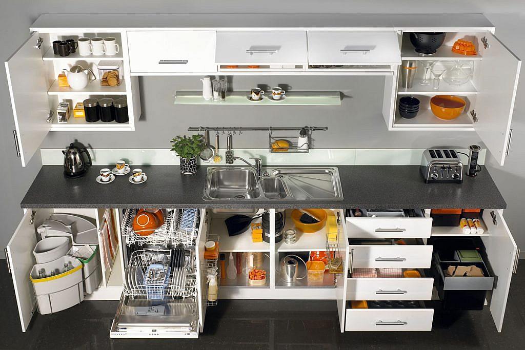 Как организовать маленькую кухню