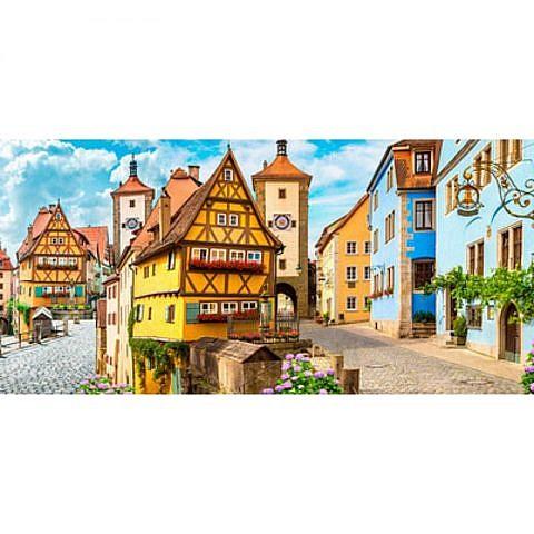 Фартук кухонный пластиковый 3х0,6 метра Немецкий город 4986