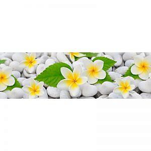 Фартук кухонный МДФ 2,8х0,6 метра Цветы 768