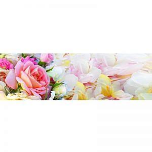 Фартук кухонный МДФ 2,8х0,6 метра Цветы 2189