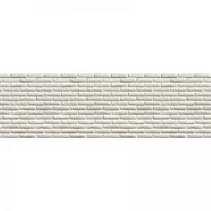 Фартук кухонный МДФ 2,8х0,6 метра Кирпичи белые 2646