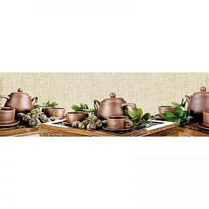Фартук кухонный МДФ 2,8х0,6 метра Чайная церемония 2944