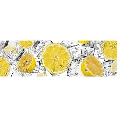 Фартук кухонный МДФ 2,8х0,6 метра Лимоны 2954