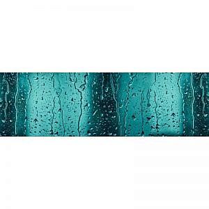 Фартук кухонный МДФ 2,8х0,6 метра Капли на стекле 3395