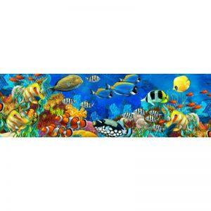 Фартук кухонный МДФ 2,8х0,6 метра Красное море 6369