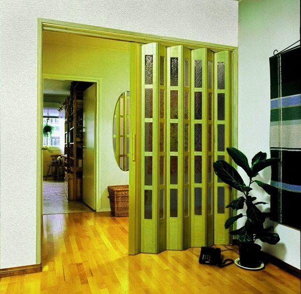 дверь гармошка в нишу
