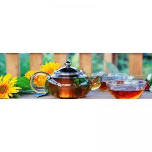 Фартук кухонный МДФ 2,8х0,6 метра Зеленый чай 089
