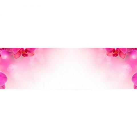 Фартук кухонный МДФ 2,8х0,6 метра Орхидеи 001