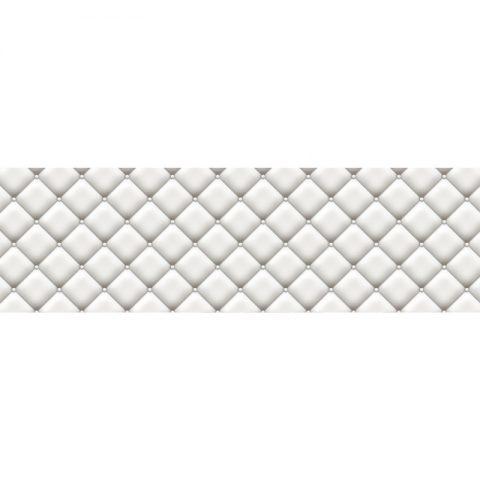 Фартук кухонный МДФ 2,8х0,6 метра Белая плитка 4624