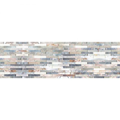 Фартук кухонный МДФ 2,8х0,6 метра Разноцветный сланец 5390