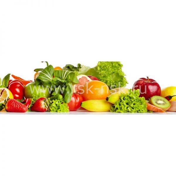 Фартук кухонный МДФ 2,8х0,6 метра Овощи 055