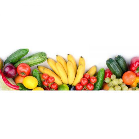 Фартук кухонный МДФ 2,8х0,6 метра Овощи 057
