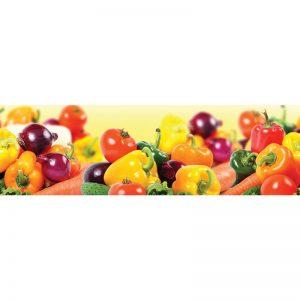 Фартук кухонный МДФ 2,8х0,6 метра Овощи 058