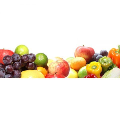 Фартук кухонный МДФ 2,8х0,6 метра Овощи 061