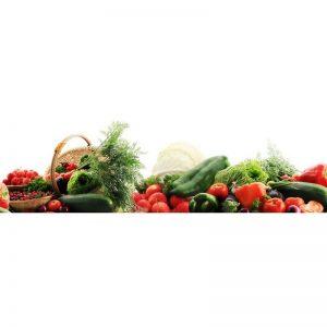 Фартук кухонный МДФ 2,8х0,6 метра Овощи 064