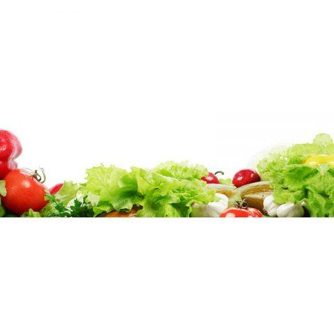 Фартук кухонный МДФ 2,8х0,6 метра Овощи 065