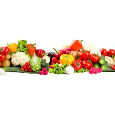 Фартук кухонный МДФ 2,8х0,6 метра Овощи 067