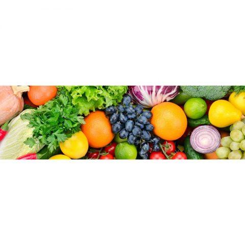 Фартук кухонный МДФ 2,8х0,6 метра Овощи 077