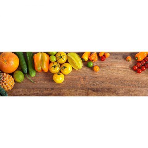 Фартук кухонный МДФ 2,8х0,6 метра Овощи 127