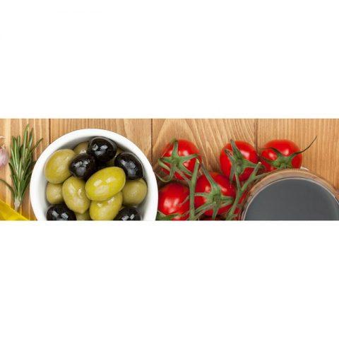 Фартук кухонный МДФ 2,8х0,6 метра Овощи 129
