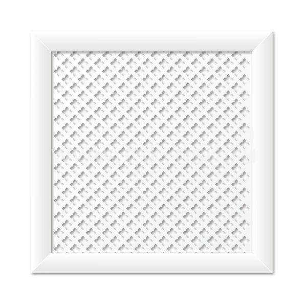 Экран для радиаторов Готико Белый (600х600мм)