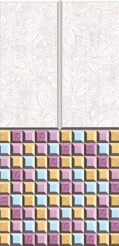 618-2 Морозная мозаика. Панели пластиковые ART. 0,25х2,7 м