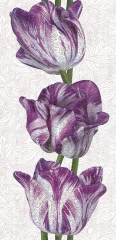 618 Морозный тюльпан. Панели пластиковые ART. 0,25х2,7 м