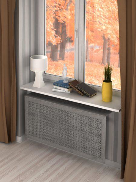 Дамаско Дуб Серый в интерьере жилого помещения