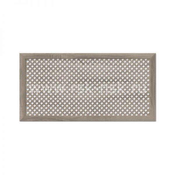 Экран для радиаторов Готико Дуб Винтаж (1200х600мм)