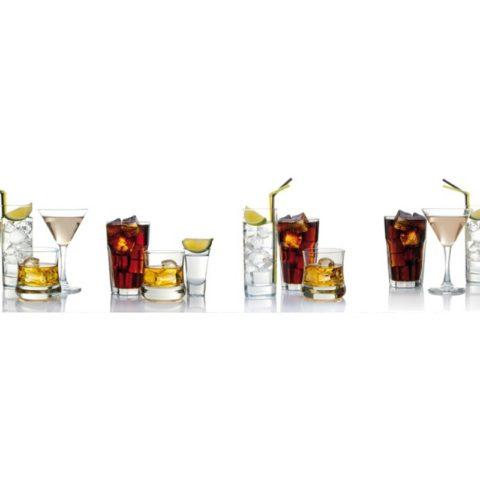 Фартук кухонный пластиковый 3х0,6 метра Напитки 9262