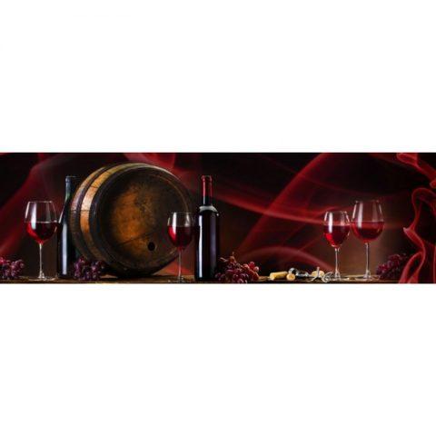 Фартук кухонный МДФ 2,8х0,6 метра Напитки 8645