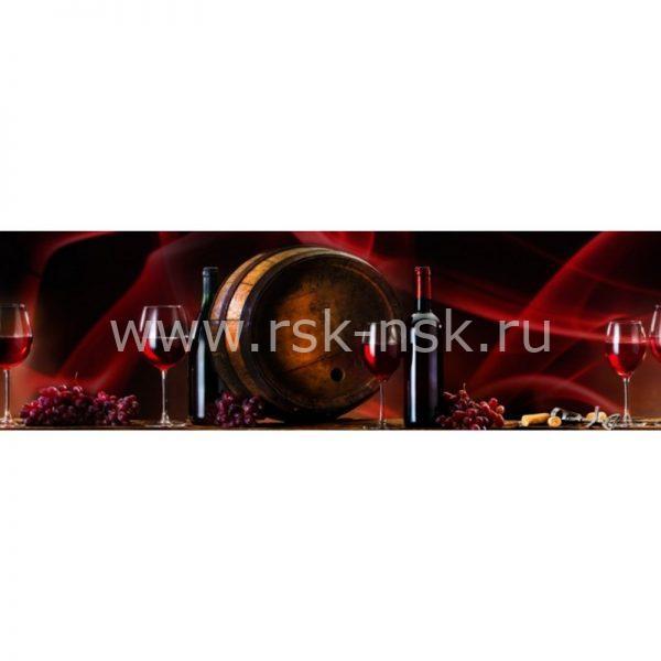 Фартук кухонный МДФ 2,8х0,6 метра Напитки 8829