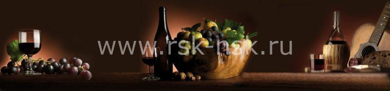 Фартук кухонный МДФ 2,8х0,6 метра Напитки 9224