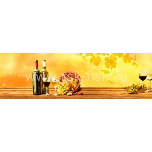 Фартук кухонный МДФ 2,8х0,6 метра Напитки 9600
