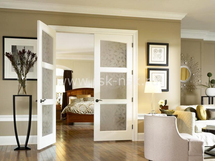 распашные двери
