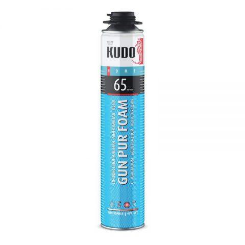 Пена монтажная Kudo Home 65 профессиональная (всесезонная -10С)