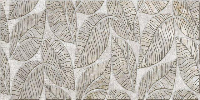 Листья серые. Панели пластиковые листовые. Мозаика