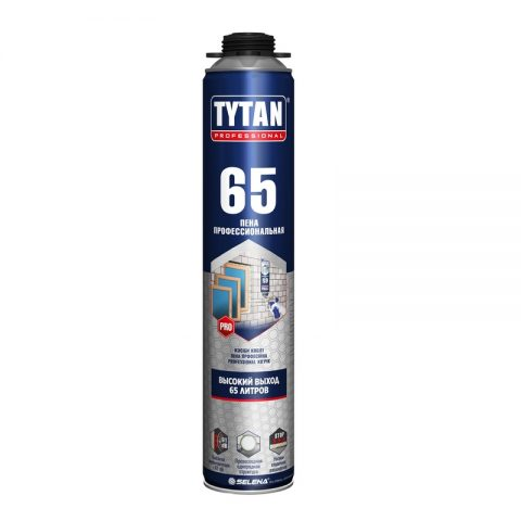 TYTAN PROFESSIONAL 65 пена пистолетная летняя