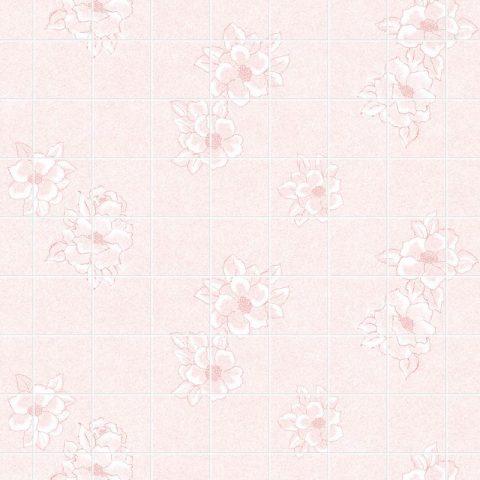 Магнолия розовая 15х15 см. Стеновые панели влагостойкие листовые