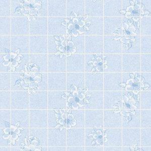Магнолия голубая 15х15 см. Стеновые панели влагостойкие листовые