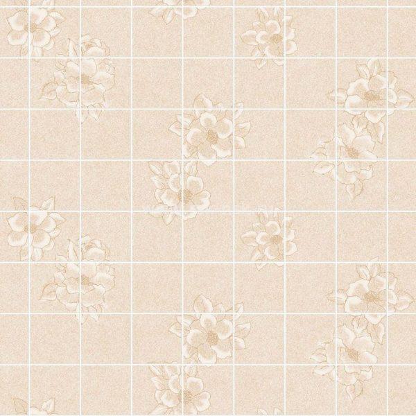 Магнолия бежевая 15х15 см. Стеновые панели влагостойкие листовые