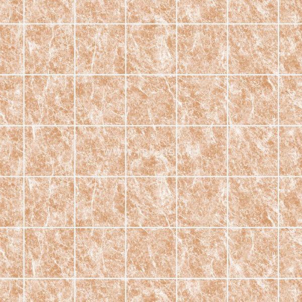 Мрамор Терракота 20х20 см. Стеновые панели влагостойкие листовые