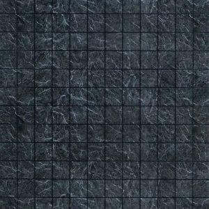 Черный дымчатый 10х10 см. Стеновые панели влагостойкие листовые