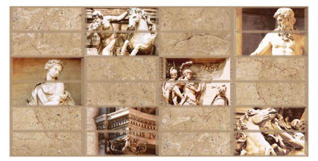Флоренция. Панели пластиковые листовые. Мозаика