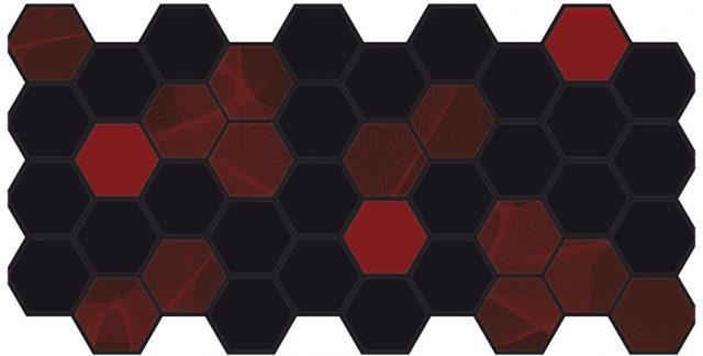 Граненый шестигранник ЭЛЕКТРА. Панели пластиковые листовые. Мозаика