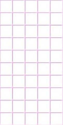 Мозаика 9*9 розовая. Панели пластиковые листовые. Мозаика