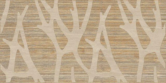 Ветки светлые. Панели пластиковые листовые. Мозаика