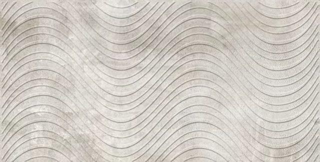 Волна серая. Панели пластиковые листовые. Мозаика